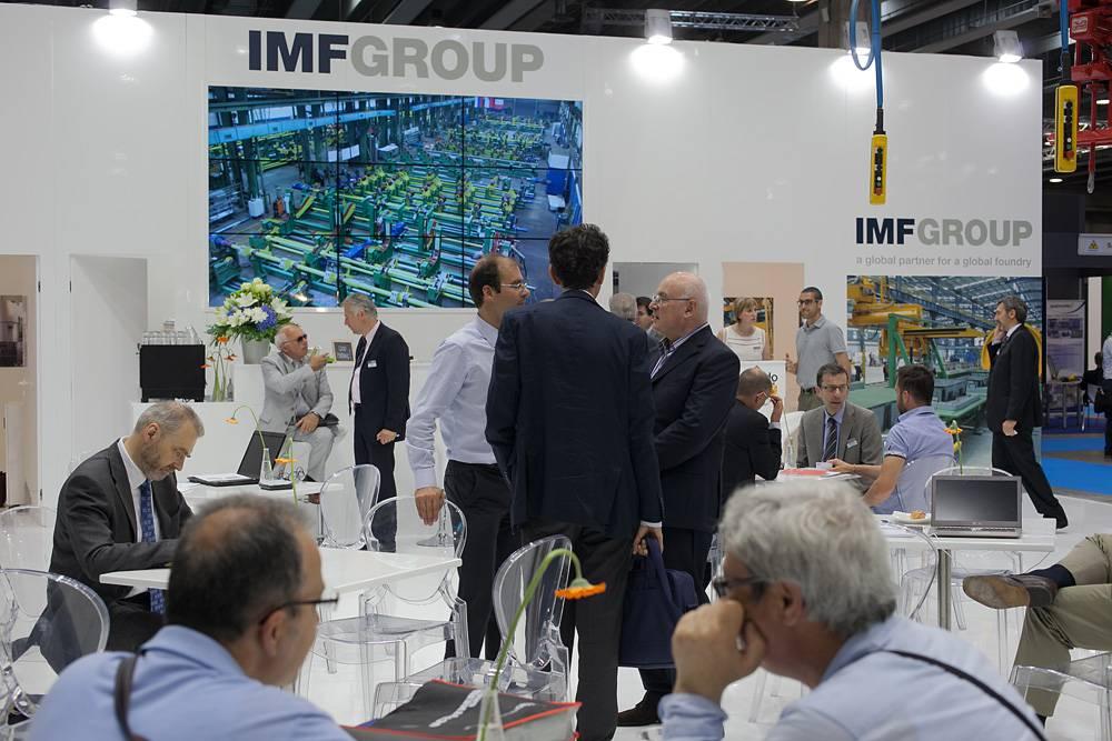 IMF Group affida a Form l'allestimento fieristico per il Metef