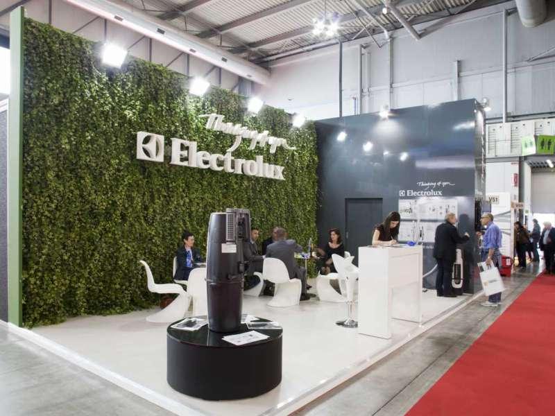 Allestimento Fiera Mostra Convegno Gruppo Electrolux