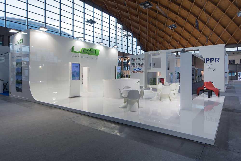 Allestimento Fiera Ecomondo Rimini per LGH Group Holding