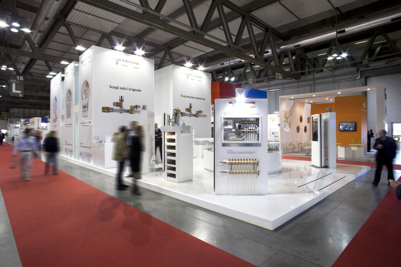 Allestimento Mostra Convegno Expocomfort Milano