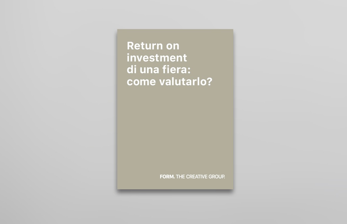 Return On Investment di una fiera: come valutarlo