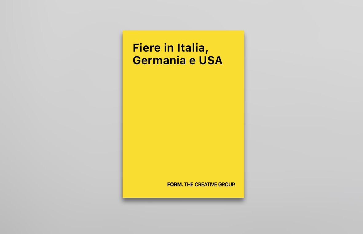 Fiere in Italia, Germania e USA